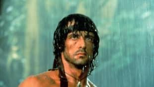 """Sylvester Stallone as """"Rambo"""""""