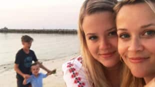 Reese Witherspoon con su hija Ava Phillippe