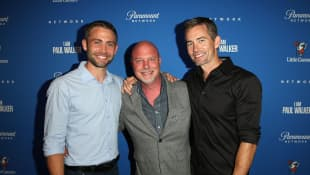 Rob Cohen, Caleb Walker and Cody Walker
