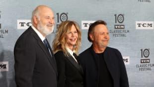 Rob Reiner, Meg Ryan and Billy Crystal