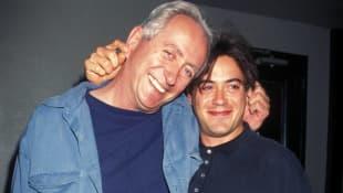 Robert Downey Jr. and Robert Downey Sr.