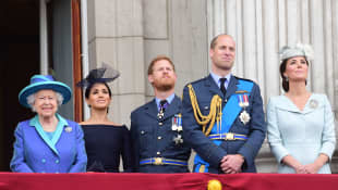 """Royal Family Fears Harry & Meghan Conflict Becoming a """"Soap Opera"""" Gayle King Oprah interview 2021 news soap opera"""