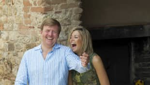 Willem-Alexander and Queen Maxima of the Netherlands
