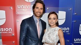 Angelique Boyer y Sebastián Rulli univisión
