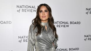 Salma Hayek attends the 2020 National Board Of Review Gala on January 08, 2020 in New York City.