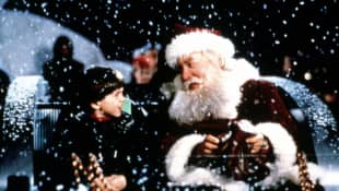 Tim Allen in 'Santa Clause' production still 1994