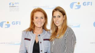Sarah Ferguson Shares Touching Tribute To Princess Beatrice On Her Postponed Wedding Day Prince Andrew