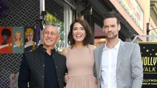 Adam Shankman, Mandy Moore and Shane West