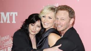 Jennie Garth und Luke Perry ehrten Shannen Doherty