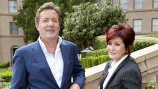 Piers Morgan and Sharon Osbourne