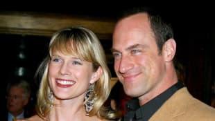 Stephanie March y Christopher Meloni