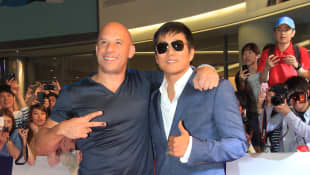 Vin Diesel y Sung Kang