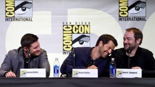 Jensen Ackles, Misha Collins and Mark Sheppard