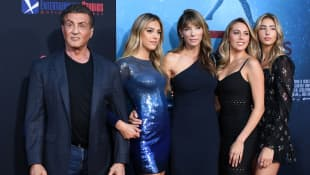 The Stallone Family