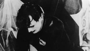 Conrad Veidt en El gabinete del Dr. Caligari (1920) director de la película de terror alemana Robert Wiene