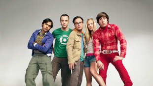 The 'Big Bang Theory' cast