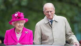 Reina Isabel II y Príncipe Felipe
