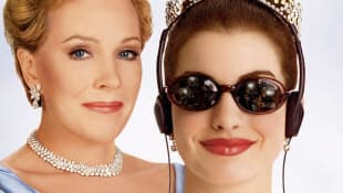 Julie Andrews and Anne Hathaway in 'The Princess Diaries'