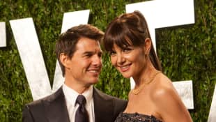 Tom Cruise and Katie Holmes in 2012