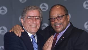 Tony Bennett and Quincy Jones