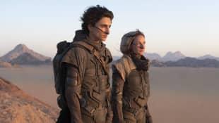 Timothée Chalamet y Rebecca Ferguson en una escena de 'Dune'