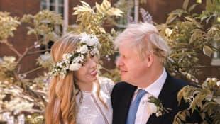 UK Prime Minister Boris Johnson Marries Carrie Symonds In Secret Wedding 2021 marriage ceremony