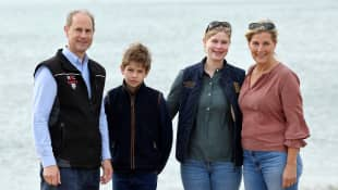 Prince Edward's Family: Lady Louise Windsor's 17th Birthday 2020 age line of succession throne