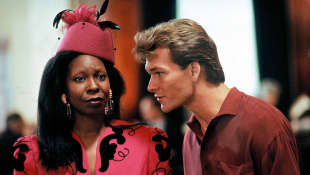 Whoopi Goldberg Patrick Swayze Ghost Movie Cast 1990 interview 2020 Naomi Campbell