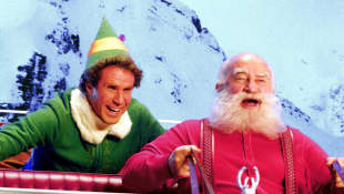 Will Ferrell and Edward Asner in 'Elf'