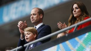 Prince William, Prince George and Duchess Kate