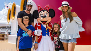 William Levy, Elizabeth Gutiérrez y sus hijos Christopher y Kailey