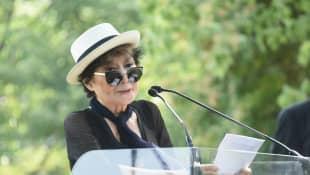 Yoko Ono discurso