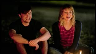 Zoe Kazan and Daniel Radcliffe