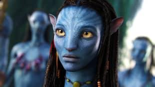 "Zoe Saldana in ""Avatar"""