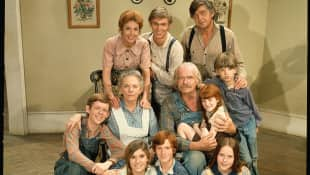"The cast of ""The Waltons"""