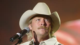 "Alan Jackson rehearses for the ""2002 Academy of Country Music Awards"" at the Universal Amphitheatre on May 21, 2002"