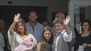 Alejandro Sanz, Raquel Perrera, Manuela Sánchez y Alma Sánchez