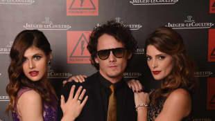 Alexandra Daddario, Anton Yelchin and Ashley Greene