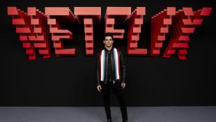 Álvaro Rico en el evento de Netflix de 2019