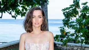 "Ana de Armas attends the ""Bond 25"" Film Launch at Ian Fleming's Home ""GoldenEye"", on April 25, 2019 in Montego Bay, Jamaica"