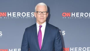 Anderson Cooper Gets Emotional As He Announces The Birth Of His Son While Live On Air - Watch Here