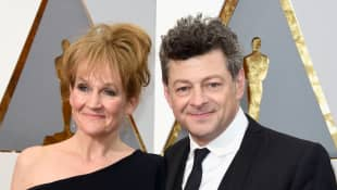 Andy Serkis: This Is His Wife Lorraine.