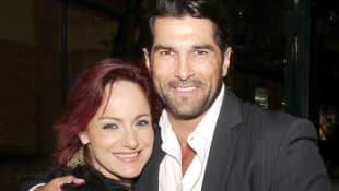 Lolita Cortés y Arturo Carmona