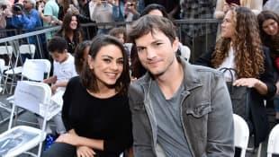Ashton Kutcher And Mila Kunis' Kids Make Sweet Sign For Coronavirus Workers