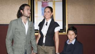 José María Torre, Bárbara Mori y su hijo