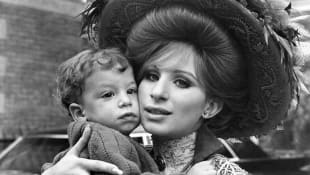 Barbra Streisand and Jason Gould