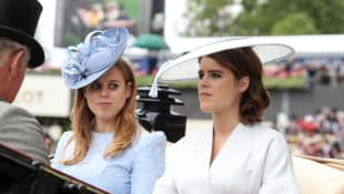 "Beatrice And Eugenie Are ""Worried"" After Prince Andrew Loses Buckingham Palace Office"