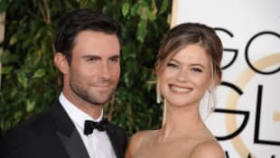 Behati Prinsloo and Adam Levine Share Rare Photo Of Their 3-Year-Old Daughter!