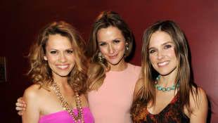 Bethany Joy Lenz, Shantel VanSanten and Sophia Bush