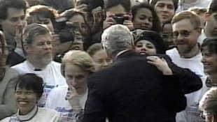 Bill Clinton and Monica Lewinsky
